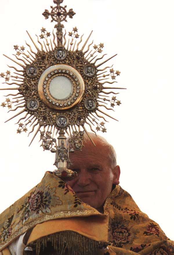 Pope & Monstrance*